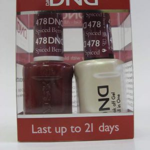 DND Soak Off Gel & Nail Lacquer 478 - Spiced Berry