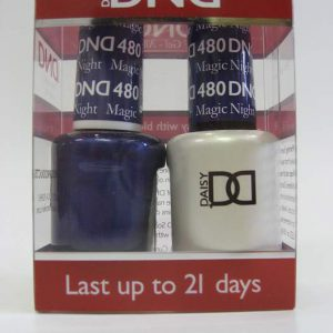 DND Soak Off Gel & Nail Lacquer 480 - Magic Night