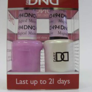 DND Soak Off Gel & Nail Lacquer 494 - Magical Mauve