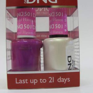 DND Soak Off Gel & Nail Lacquer 501 - Haven Angel