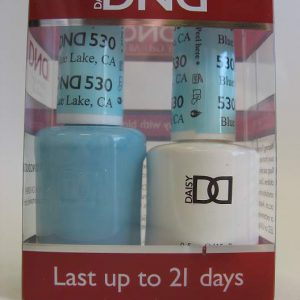 DND Soak Off Gel & Nail Lacquer 530 - Blue Lake, CA