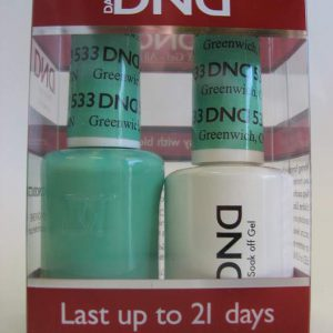 DND Soak Off Gel & Nail Lacquer 533 - Greenwich, CT