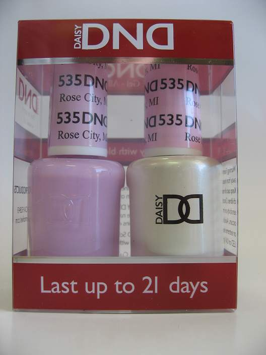DND Soak Off Gel & Nail Lacquer 535 - Rose Hill, MI
