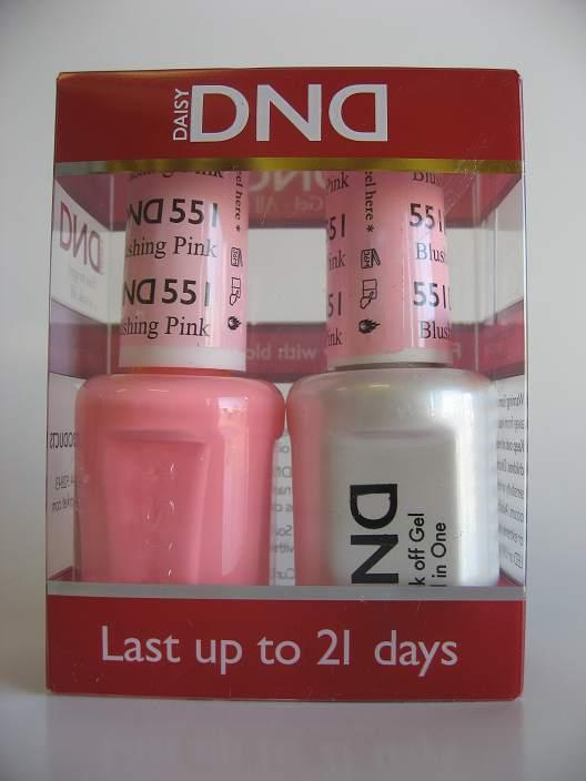 DND Gel & Polish Duo 551 - Blushing Pink