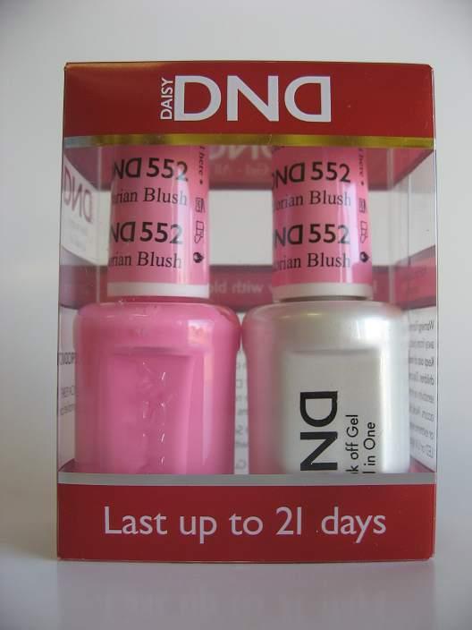 DND Gel & Polish Duo 552 - Victorian Blush