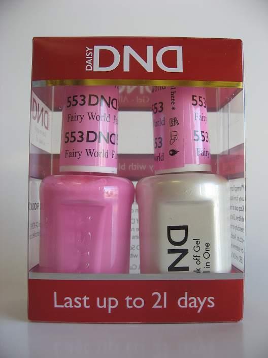 DND Gel & Polish Duo 553 - Fairy World