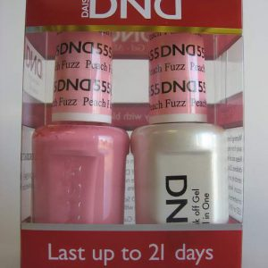 DND Gel & Polish Duo 555 - Peach Fuzz