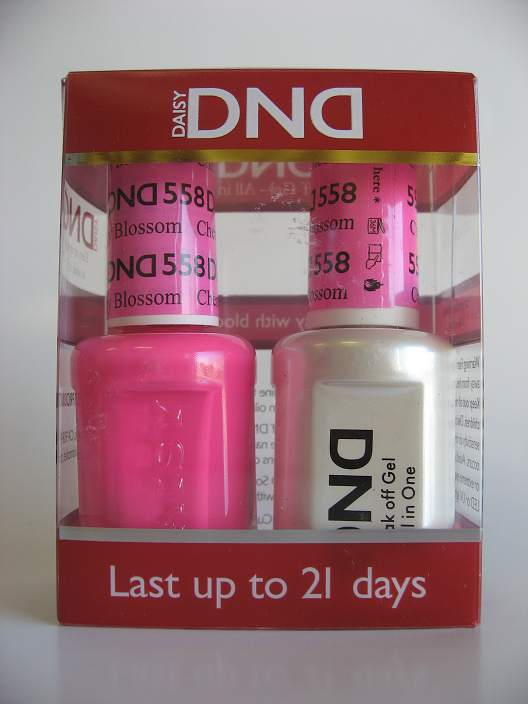 DND Gel & Polish Duo 558 - Cherry Blossom