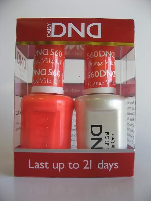 DND Gel & Polish Duo 560 - Orange Ville, UT