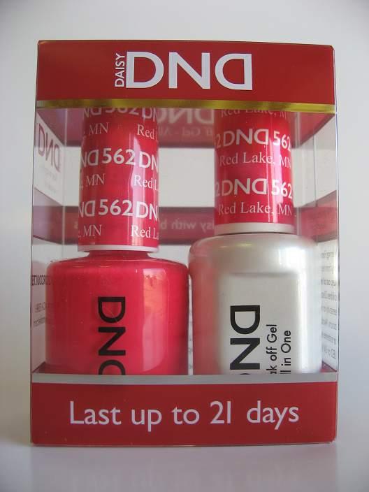 DND Gel & Polish Duo 562 - Red Lake, MN