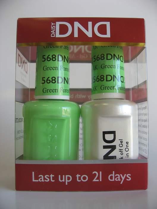 DND Gel & Polish Duo 568 - Green Forest, AK