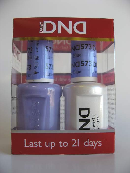 DND Gel & Polish Duo - 573 Lavender Blue