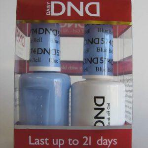 DND Gel & Polish Duo 574 - Blue Bell