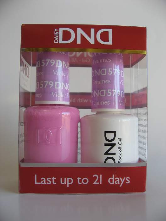DND Gel & Polish Duo 579 - Violet Femmes