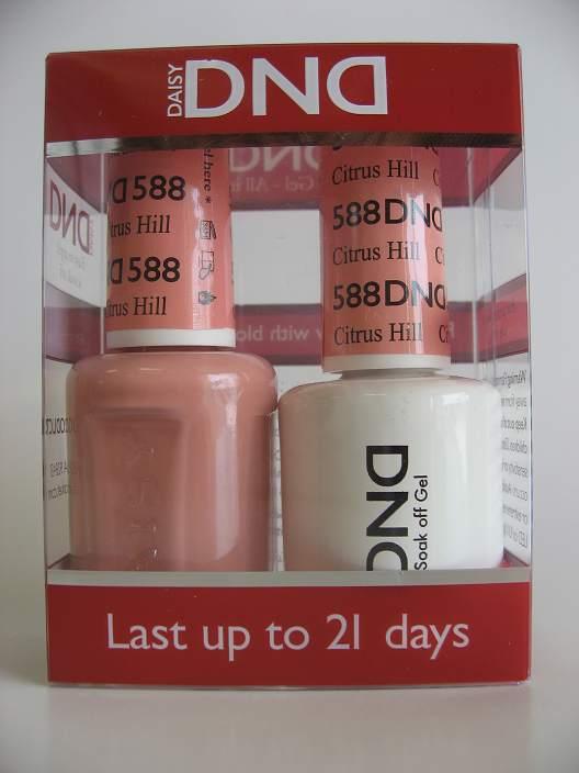DND Gel & Polish Duo 588 - Citrus Hill
