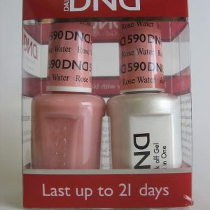 DND Gel & Polish Duo 590 - Rose Water
