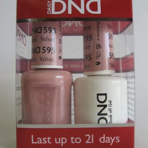 DND Gel & Polish Duo 595 - Velvet Cream
