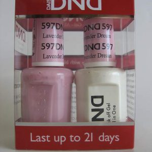 DND Gel & Polish Duo 597 - Lavender Dream