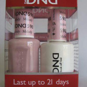 DND Gel & Polish Duo 598 - Melody