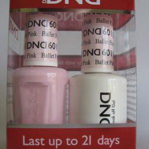 DND Gel & Polish Duo 601 - Ballet Pink