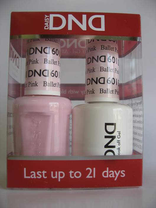 DND Gel & Polish Duo 601 - Ballet Pink