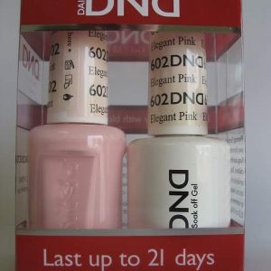 DND Gel & Polish Duo 602 - Elegant Pink