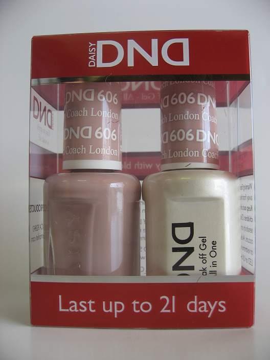 DND Gel & Polish Duo 606 - London Coach