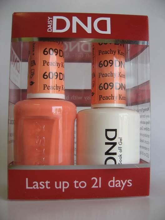 DND Gel & Polish Duo 609 - Peachy Keen