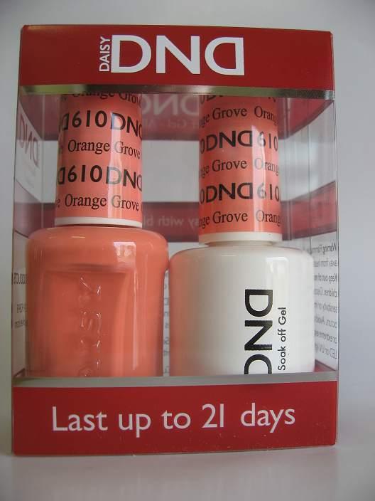 DND Gel & Polish Duo 610 - Orange Grove