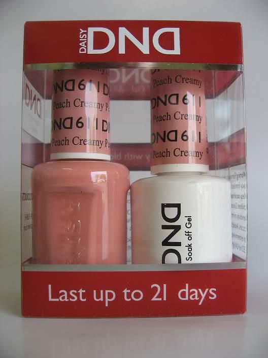 DND Gel & Polish Duo 611 - Creamy Peach