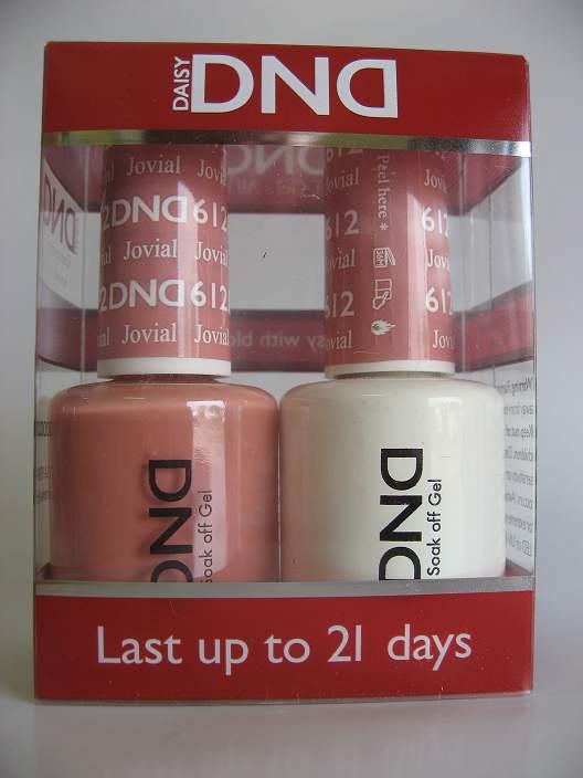 DND Gel & Polish Duo 612 - Jovial