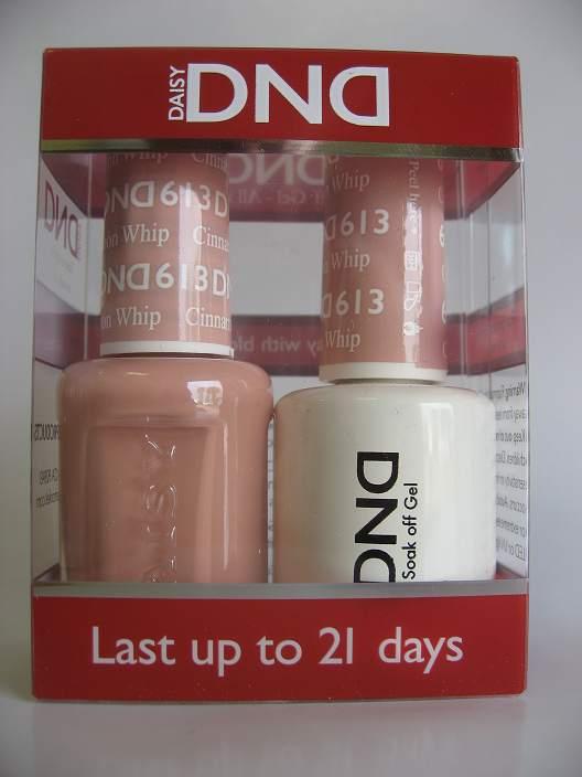 DND Gel & Polish Duo 613 - Cinnamon Whip