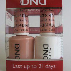 DND Gel & Polish Duo 614 - Sun Tan