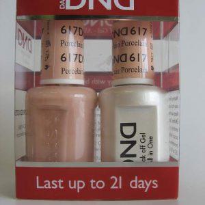 DND Gel & Polish Duo 617 - Porcelain