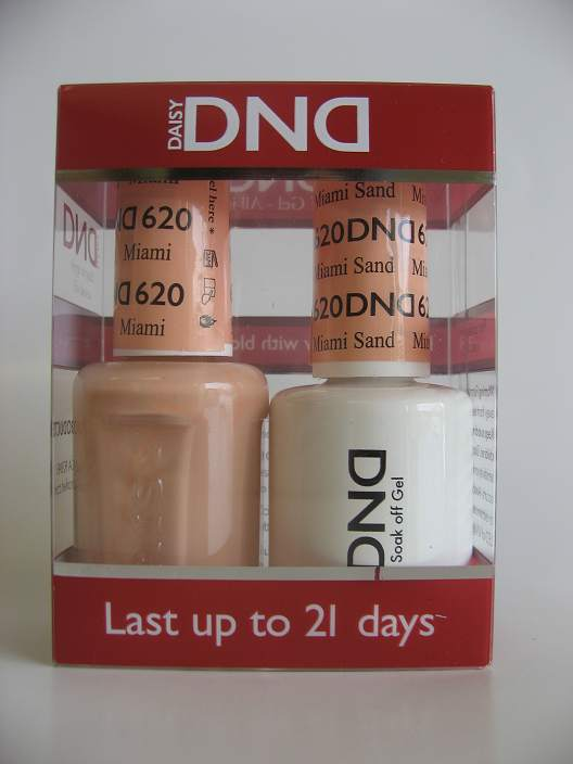 DND Gel & Polish Duo 620 - Miami Sand