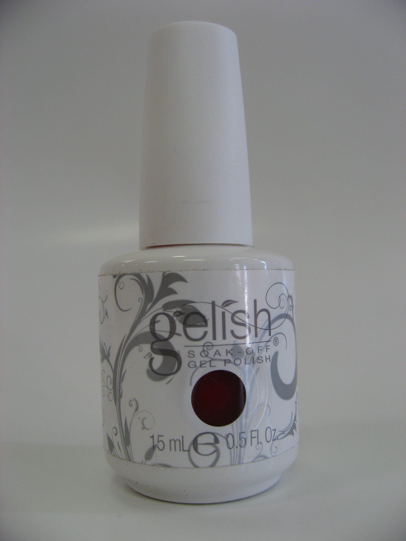 Gelish Soak Off Gel Polish - 1412 - Hot Rod Red