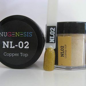 NuGenesis Dipping Powder - Copper Top NL-02
