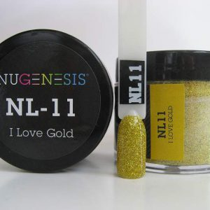 NuGenesis Dip Powder - I Love Gold NL-11