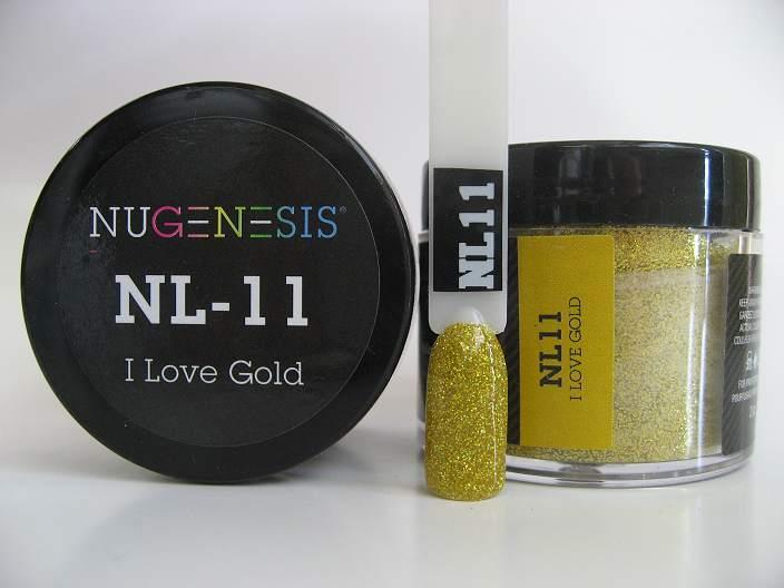 NuGenesis Dip Powder - I Love Gold NL-11