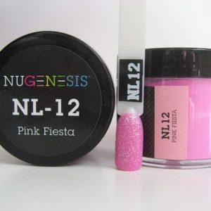 NuGenesis Dip Powder - Pink Fiesta NL-12