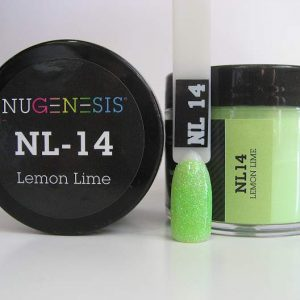 NuGenesis Dip Powder - Lemon Lime NL-14