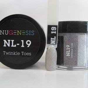 NuGenesis Dip Powder - Twinkle Toes NL-19