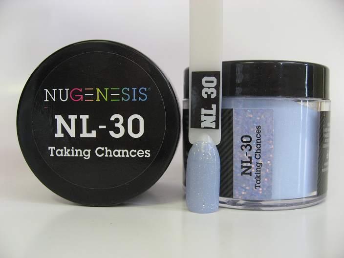 Nugenesis Dipping Powder Nl30 Taking Chances Manicure