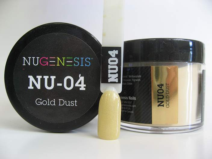 NuGenesis Dipping Powder - Gold Dust NU-04