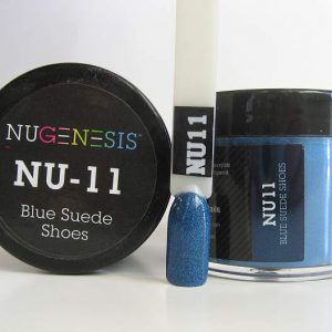 NuGenesis Dipping Powder - Blue Suede Shoes NU-11