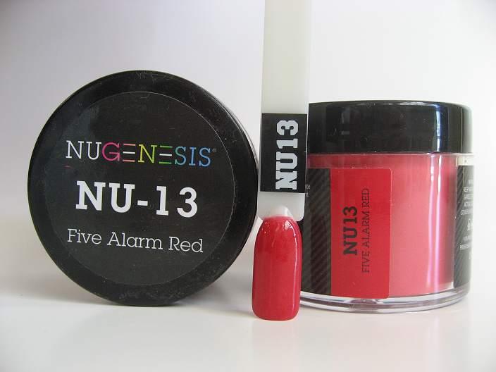 NuGenesis Dipping Powder - Fire Alarm Red NU-13