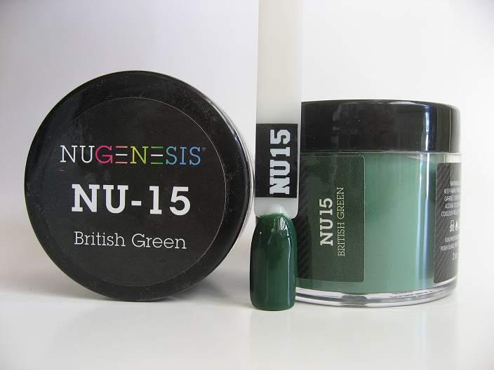 NuGenesis Dipping Powder - British Green NU-15