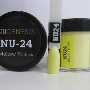 NuGenesis Dipping Powder - Mellow Yellow NU-24