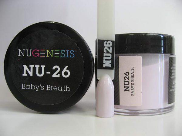 NuGenesis Dipping Powder - Baby's Breath NU-26
