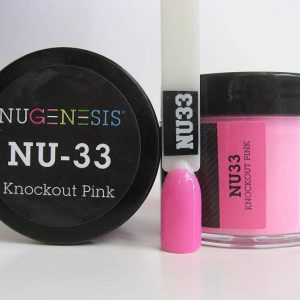 NuGenesis Dipping Powder - Knockout Pink NU-32